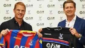 Frank de Boer, nuevo entrenador del Crystal Palace. Foto Twitter (@CPFC)