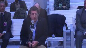 David Marjaliza durante una adeclaración en la Audiencia Nacional.