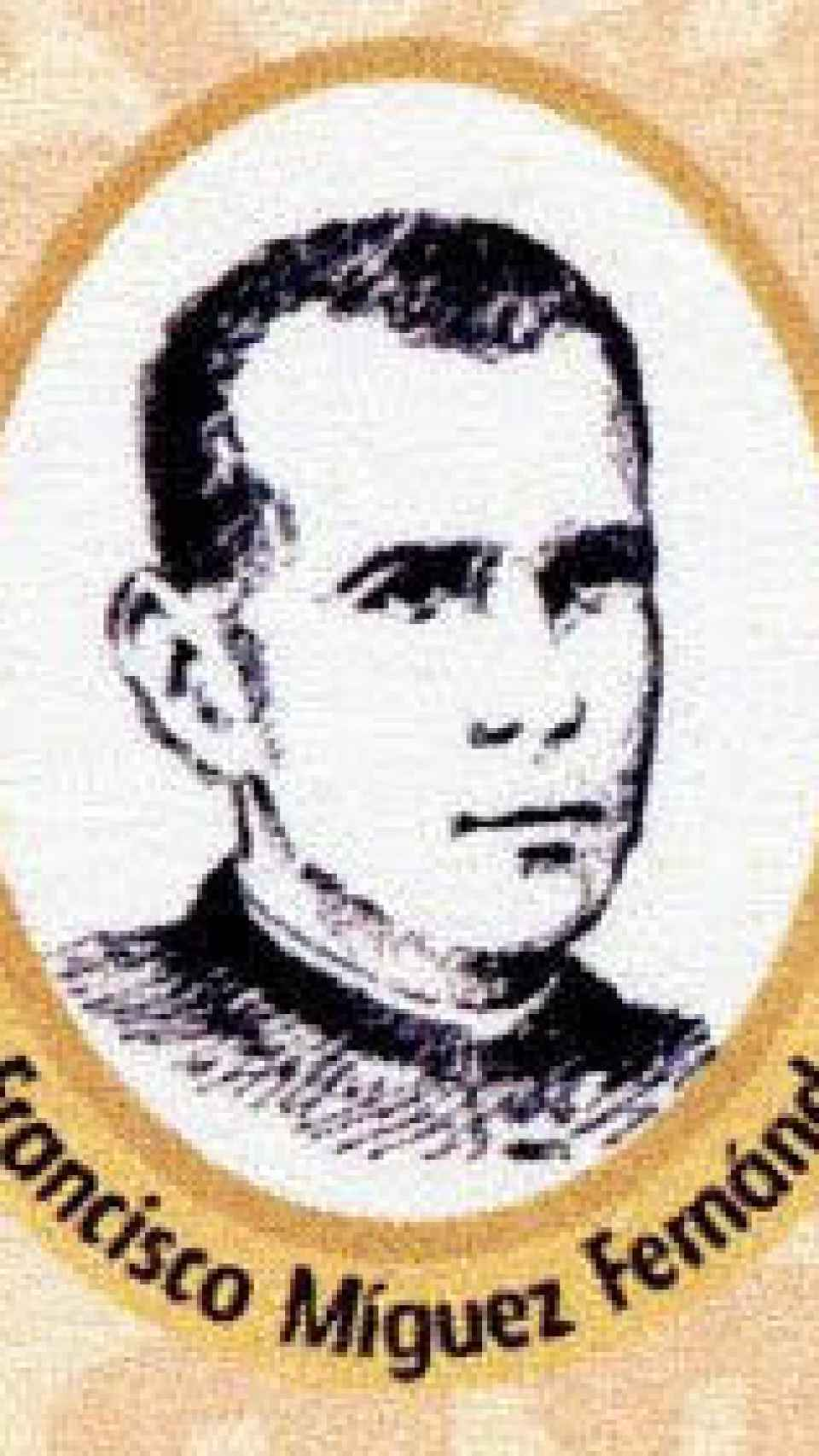 Francisco Míguez Fernández, párroco que la encubrió.