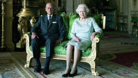 Isabel II y Felipe de Edimburgo.