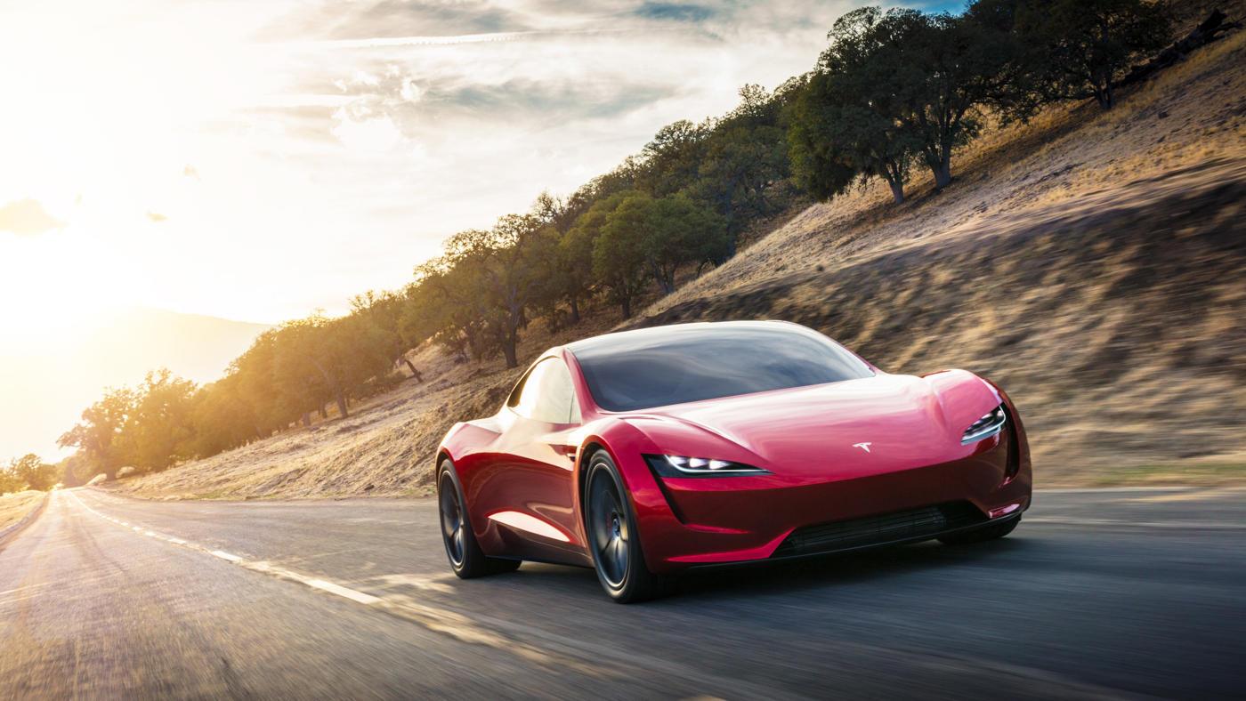 tesla roadster electrico diplaza deportivo descapotable