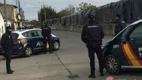 zamora policia nacional barrio llamas