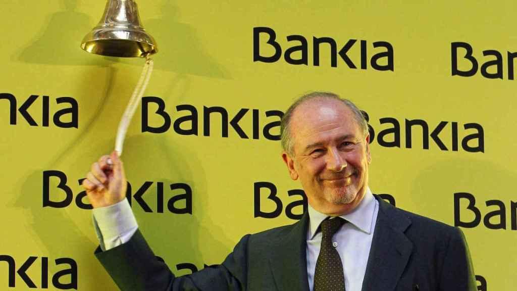 Rato en la salida a bolsa de Bankia