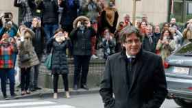 Carles Puigdemont en Bélgica.