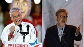 Piñera y Guillier los dos principales candidatos a las elecciones de Chile.