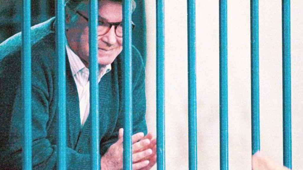 Toto Riina, durante uno de sus juicios en una imagen de 1996