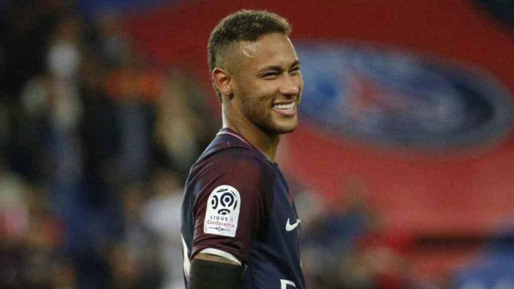 Neymar, en un partido con el PSG. Foto: psg.fr
