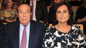 Carmen Tello junto a su marido Curro Romero