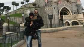 Antonio Velázquez y Marta González en Disneyland París