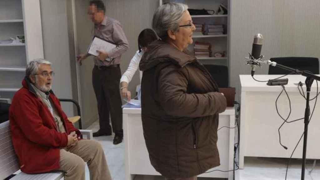 Los acusados de los GRAPO José Ramón Teijelo y María Victoria Gómez.