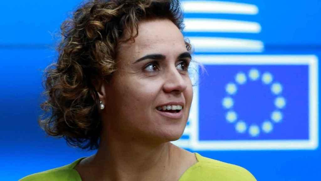 La ministra de Sanidad, Dolors Montserrat, en Bruselas