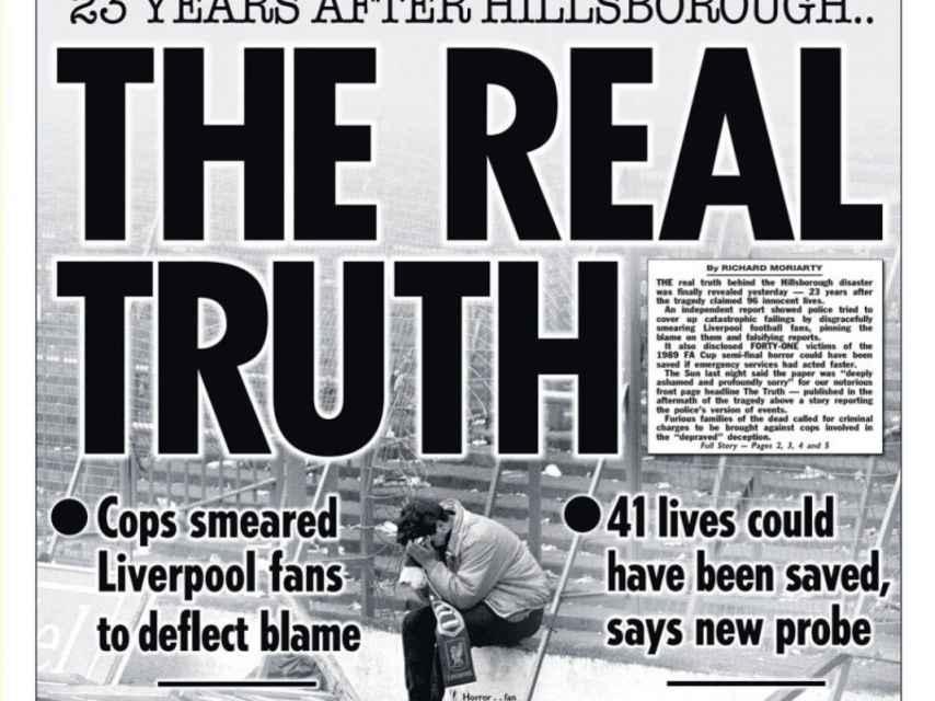 The Sun se disculpa por la información ofrecida