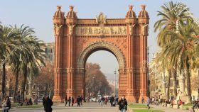 El Arco del Triunfo de Barcelona.