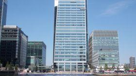 El edificio de la EMA en Canary Warf, Londres.