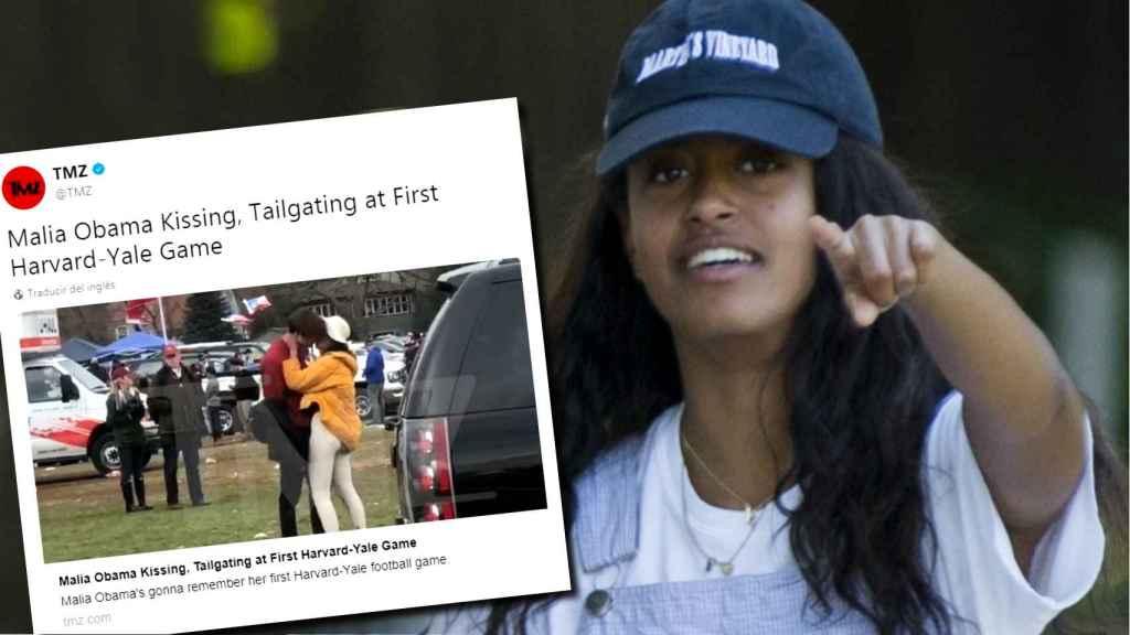 La hija del expresidente de Estados Unidos está viviendo su etapa universitaria con mucha diversión.