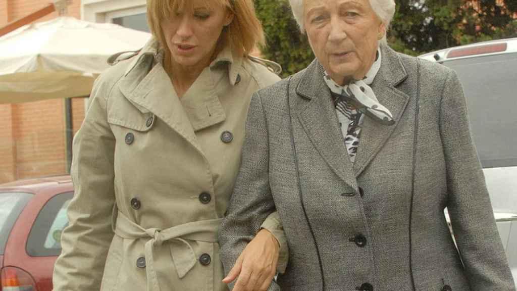 Susanna Griso junto a Montserrat Reventós