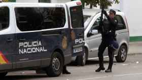 Policía Nacional en Algeciras.