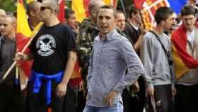 Uno de los dirigentes de las Juventudes de Democracia Nacional, Pedro Chaparro, vinculado con el ataque a la librería Blanquerna.