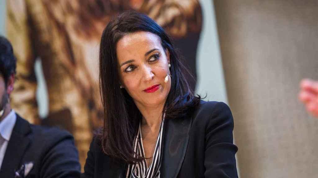 Cruz Sánchez de Lara, en uno de los debates del primer aniversario de EL ESPAÑOL.