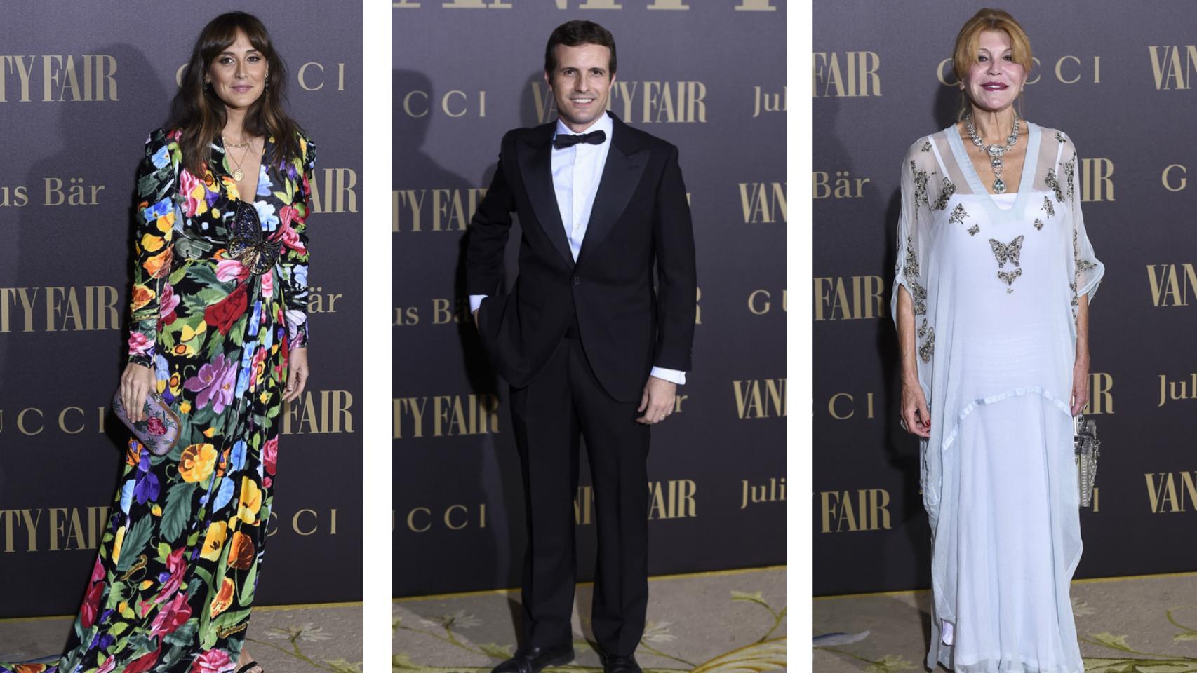 La élite española se reúne ne los premios Vanity Fair