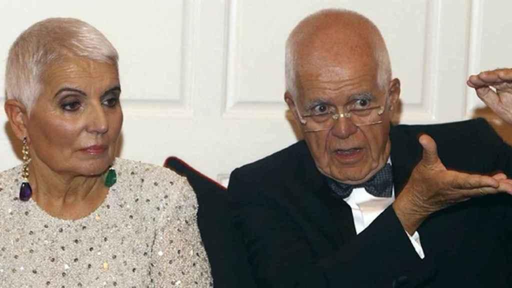 Imagen del matrimonio Tous, Salvador y Rosa.