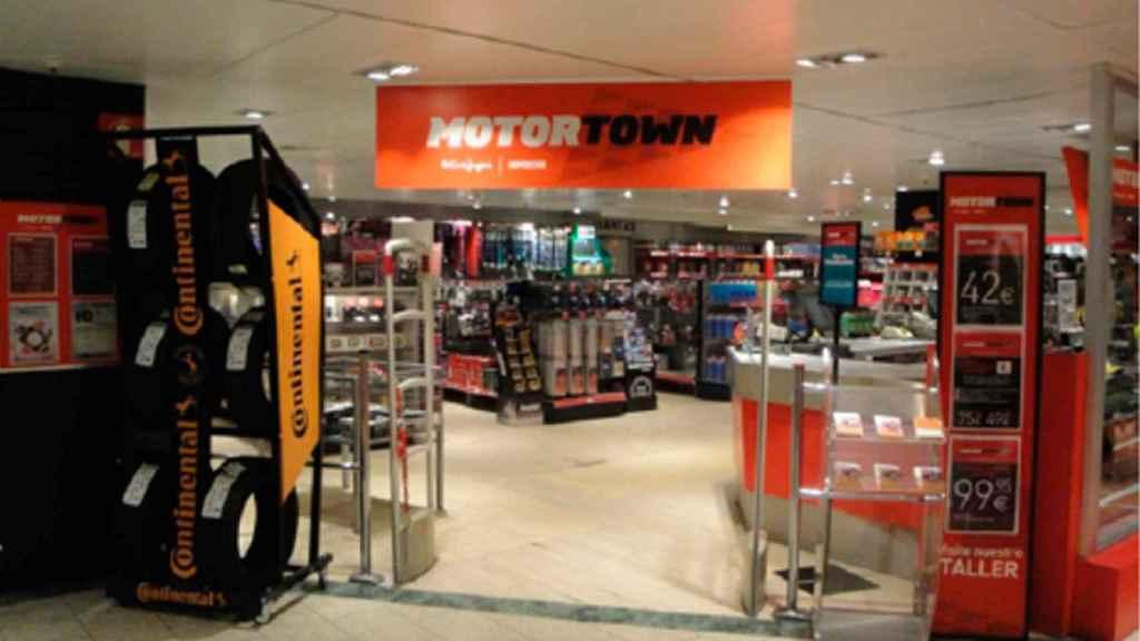 La tienda Motortown de Pozuelo.