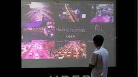 Condiciones del tráfico en diferentes ciudades asiáticas durante un evento de Uber en Singapur.