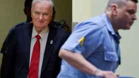 El exlíder serbobosnio Mladic.