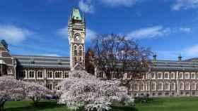 Universidad Otago en Dunedin, Nueva Zelanda