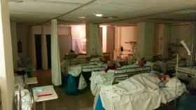 Saturación de pacientes en las Urgencias de La Paz