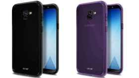 El Samsung Galaxy A5 2018 confirma su diseño en las imágenes de sus fundas