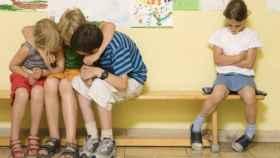 Campaña contra el acoso escolar.