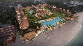 Infografía del nuevo hotel Lopesan Costa Bávaro.