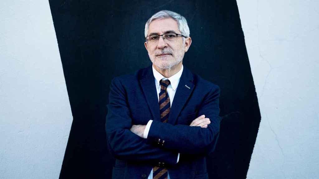 Gaspar Llamazares en el Matadero de Madrid.