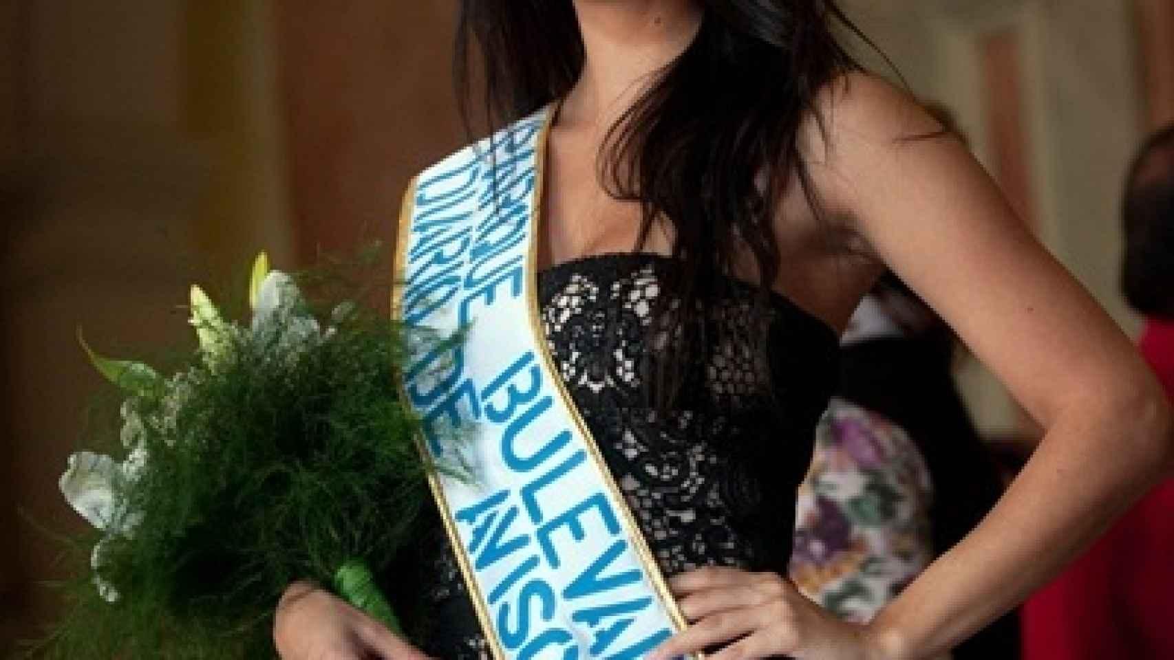 Saida Prieto fue elegida candidata a Reina del Carnaval en 2013.