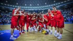 La euforia de la selección española tras otra gran victoria en las Ventanas.