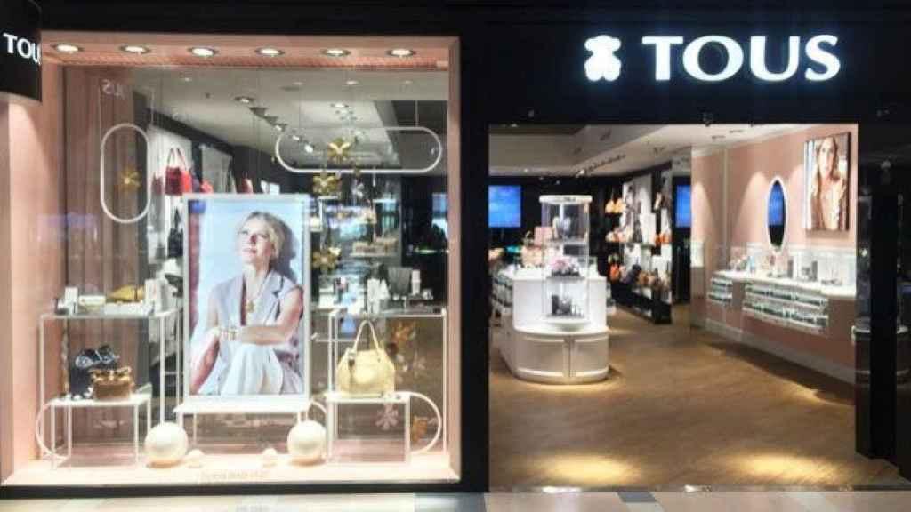Imagen de una tienda de Tous.