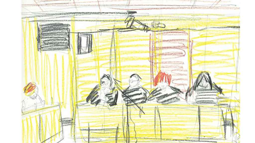 Ilustración del aspecto del juicio general.