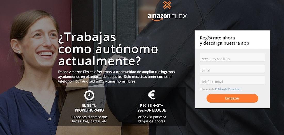amazon flex espana