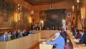 Pleno Extraordinario Diputación de León 11-5