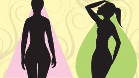 En un 'cuerpo pera', la grasa se acumula en las caderas y los muslos.