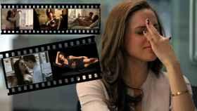 Meghan Markle junto a algunas de sus escenas.