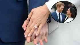 El anillo de pedida de Meghan Markle y el príncipe Harry