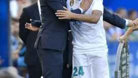 Zidane y Ceballos en el Alavés - Real Madrid.