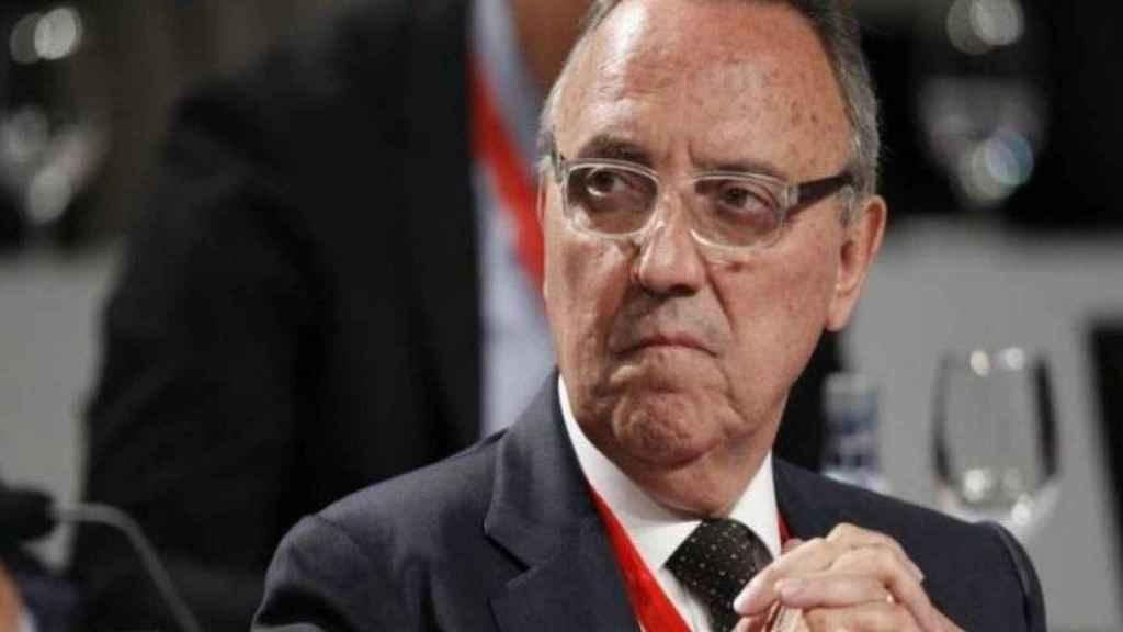 Joan Gaspart, candidato a sustituir a Villar   Foto: Twitter (@elchiringuitotv)