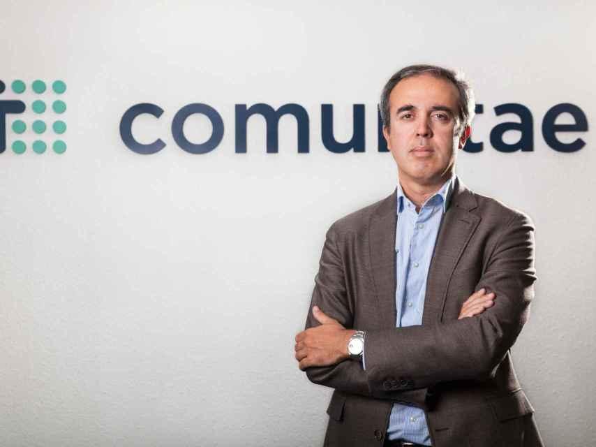 Arturo Cervera, fundador de Comunitae en una imagen de archivo.