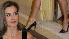Las piernas de la reina Letizia.