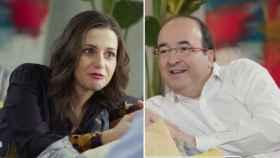 El tiempo muerto de Inés Arrimadas y Miquel Iceta en el programa de Bertín Osborne