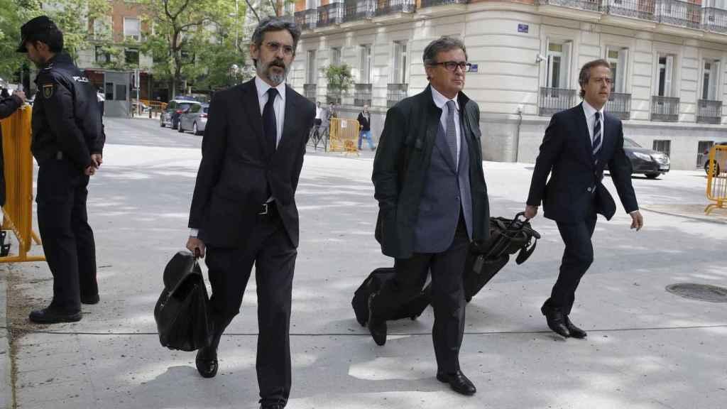 Los hijos de Jordi Pujol acuden a declarar a la Audiencia Nacional.