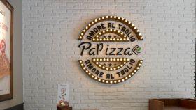Uno de los locales de Papizza.